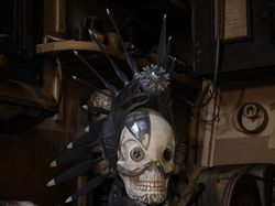 """Steampunk scull """"To hell through heaven"""""""