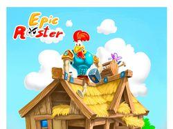 Разработка графики для игры - Epic Rooster