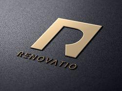Логотип студии интерьера Renovatio