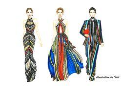 Fashion illustration 2018-2019