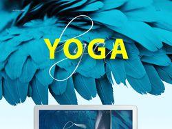 Landing Page для студии Йоги