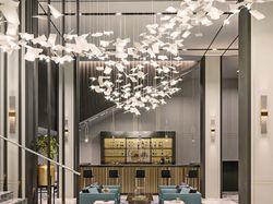 Дизайн интерьера вестибюльной группы.