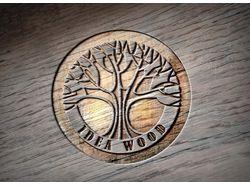 Логотип Idea Wood