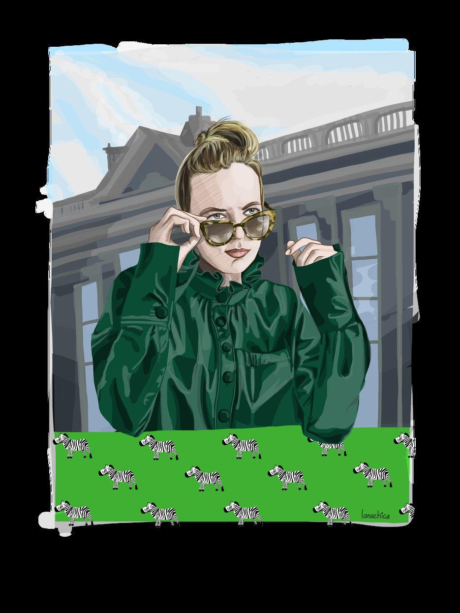 иллюстрация к сериалу Killing Eve
