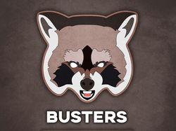 "Логотип киберспортивной команды ""Busters"""