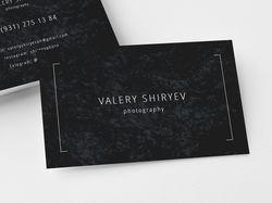 Визитка для VALERY SHIRYEV