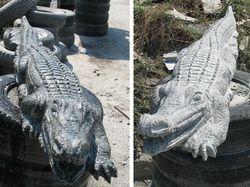Крокодил, гранит