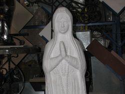 Статуя Мадонны для мемориального комплекса