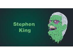 Стивен Кинг  (Grime Art)