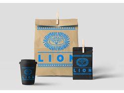 "Логотип для кофейни ""Lion"""