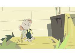 Фрагмент из детского мультфильма