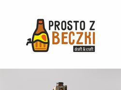 Логотип сети пивных магазинов в Польше
