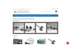 Разработка интернет-магазина AstroProService.com