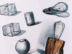 Передача стеклянных предметов