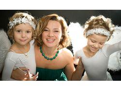 Фотография и ретушь семейной фотосессии