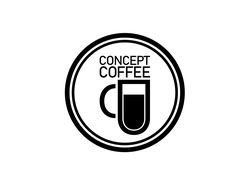 Логотип для сети кофеен, 2018 г.