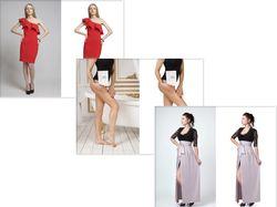 Замена фона, ретушь изображений с моделями