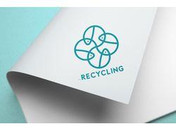 Логотип RECYCLING