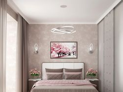Дизайн спальной комнаты для семейной пары