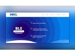 MMG landing page