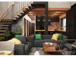 Дизайн интерьера индивидуального жилого дома