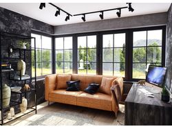 sofa modeling and interior visualization