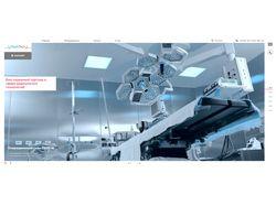 Сайт визитка Meditech