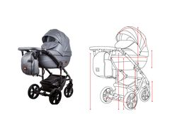 Иллюстрация   Отрисовка детской коляски