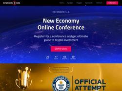 """Лендинг - """"Conference 2018"""""""