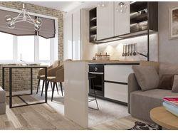 Дизайн интерьера кухня