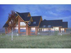 Визуализация индивидуального жилого дома