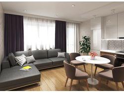 Проект интерьера квартиры под сдачу в аренду