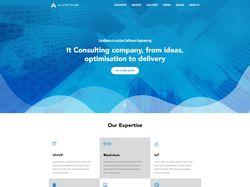 Верстка корпоративного сайта