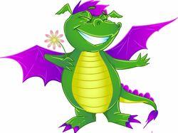 Счастливый дракончик