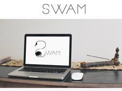 """Логотип """"Swam"""""""