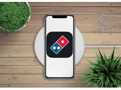 Мобильное приложение ios Доминос Пицца