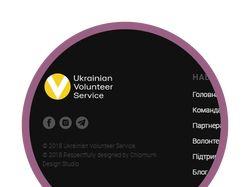 Сайт для украинского волонтерского движения