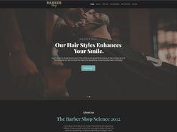"""Веб дизайн для """"Barber Shop"""""""