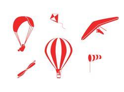Иконки на тему малой авиации