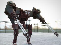 3D модель робота