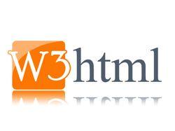 W3 html