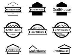 Разработка логотипа для компании  «GrafitHouse»