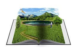 3Д картинка книги