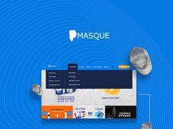 MASQUE - сайт под ключ и айдентика
