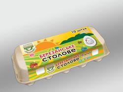 упаковки яиц Березанские