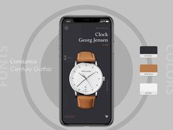 Selling watches ui/ux design