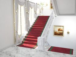 Лестница в администрации области