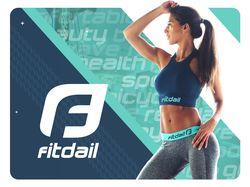 Логотип и брендинг фитнес-компании
