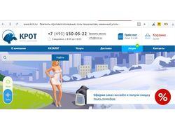 Продвижение сайта реагентов krot.su