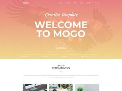 Mogo Landing Page